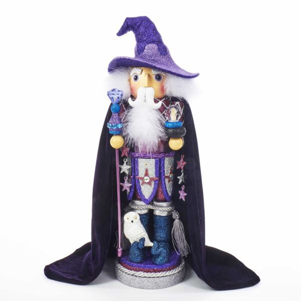 Nutcracker - Purple Wizard Nutcracker - 18in