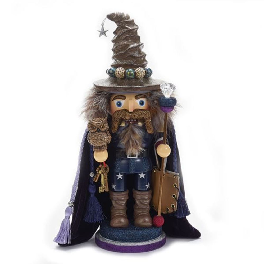 Nutcracker - Brown Wizard Nutcracker - 15in