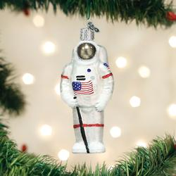Old World Christmas Glass Ornament - Astronaut