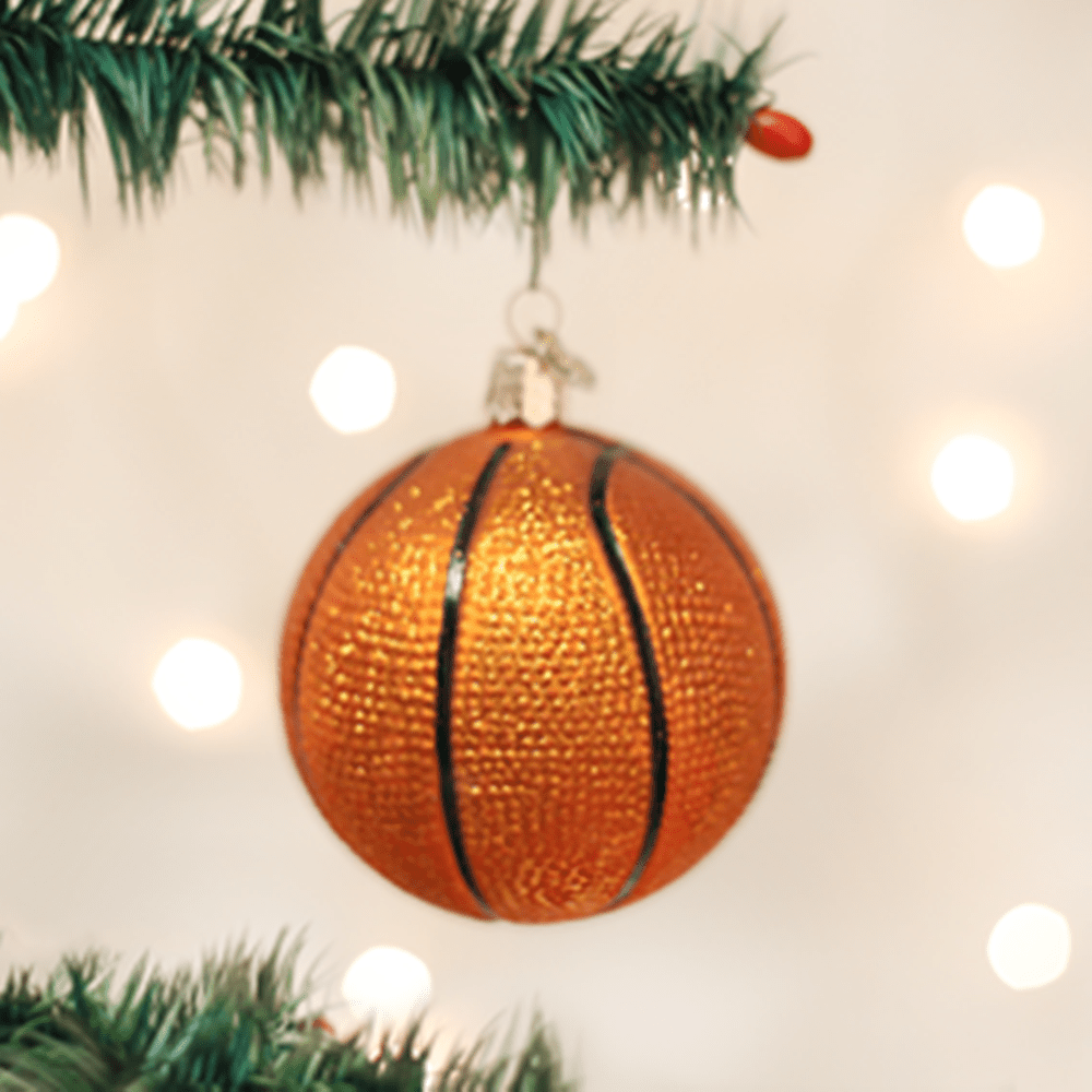 Old World Christmas Ornament - Basketball