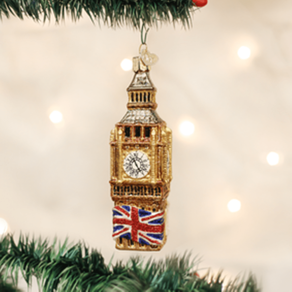 Old World Christmas Ornament - Big Ben