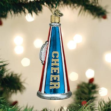 Old World Christmas Glass Ornament - Cheer