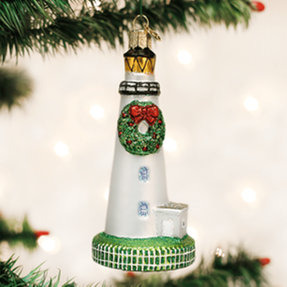 Old World Christmas Ornament - Ocracoke Lighthouse