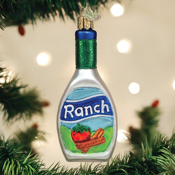 Old World Christmas Glass Ornament -Ranch Dressing