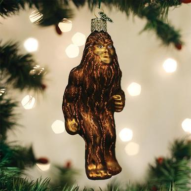 Old World Christmas Glass Ornament - Sasquatch