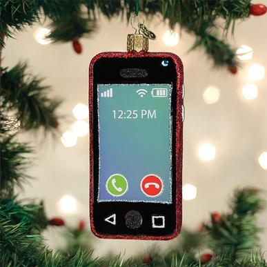 Old World Christmas Glass Ornament - Smartphone