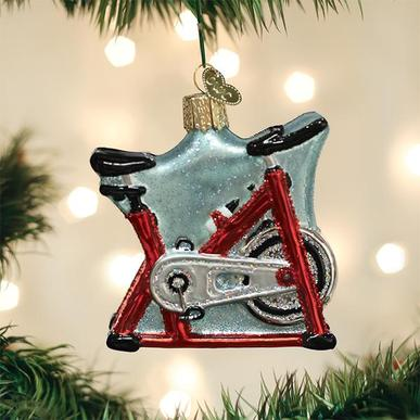 Old World Christmas Glass Ornament - Spin Cycle