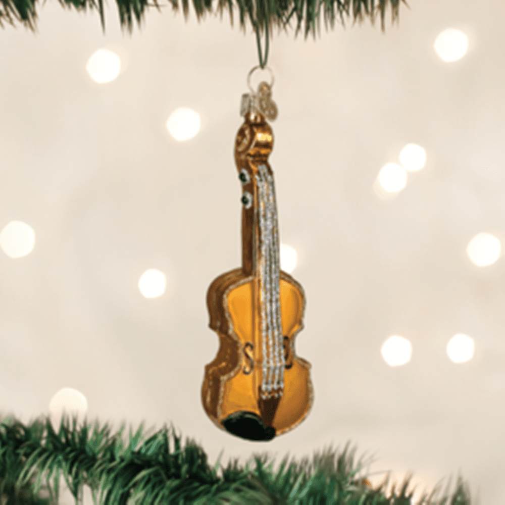 Old World Christmas Glass Ornament - Violin