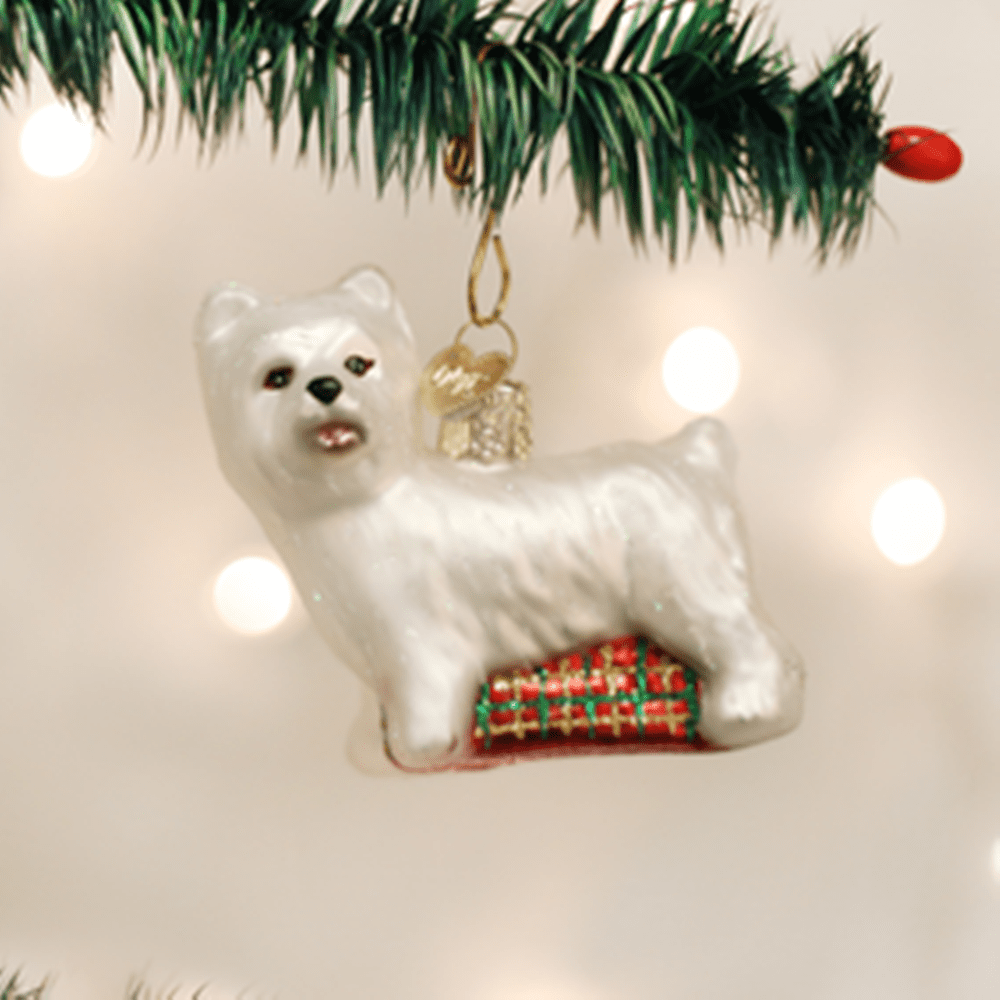 Old World Christmas Ornament - Westie