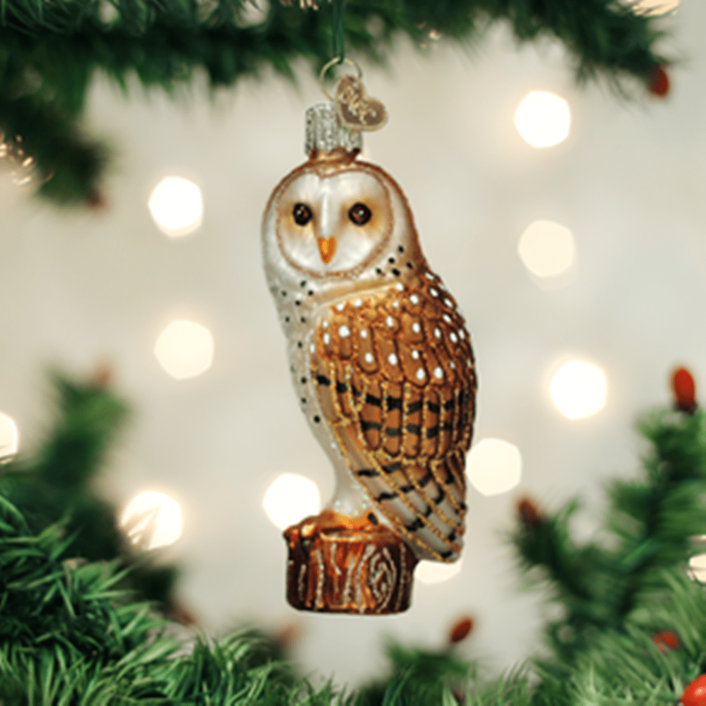 Old World Christmas Ornament - Barn Owl