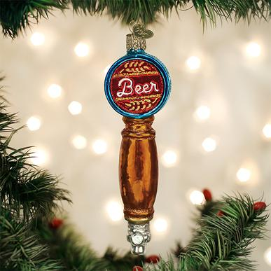 Old World Christmas Ornament - Beer Tap