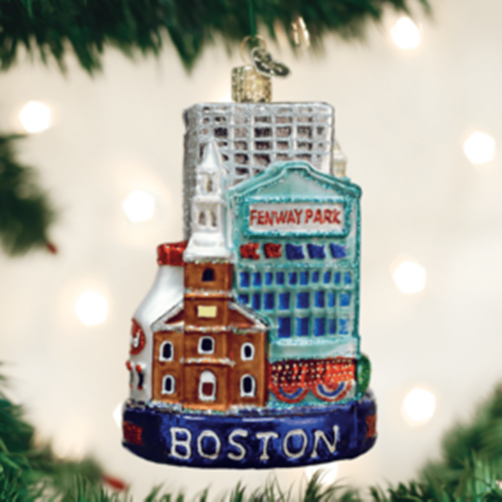 Old World Christmas Ornament - Boston