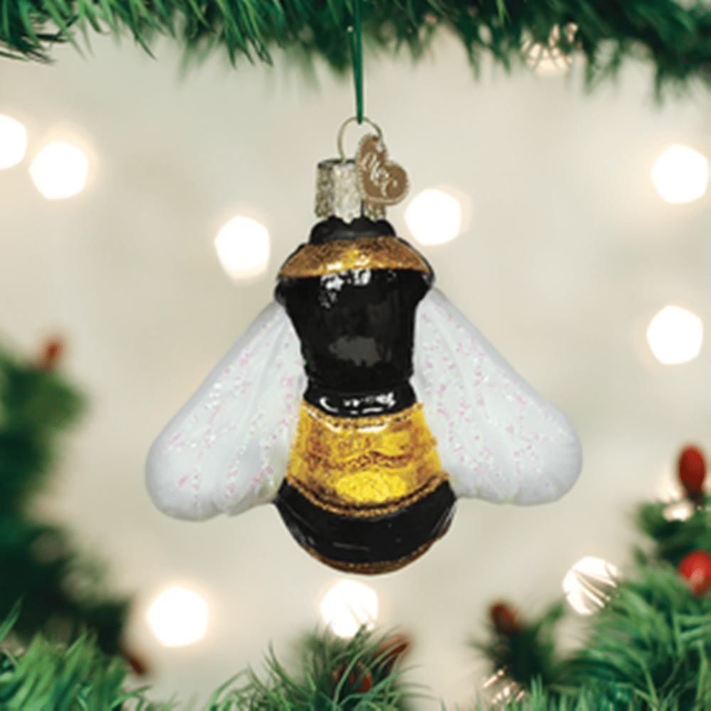 Old World Christmas Glass Ornament - Bumblebee