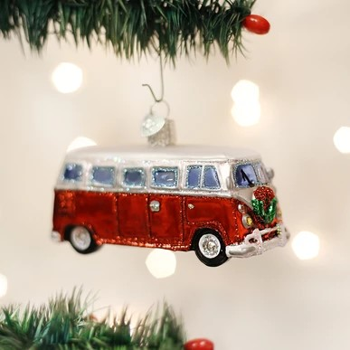 Old World Christmas Glass Ornament - Camper Van