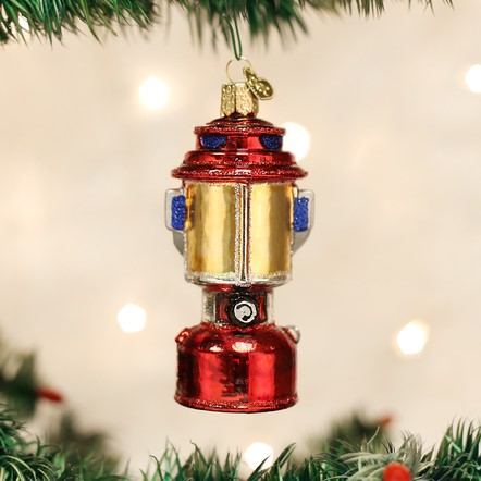 Old World Christmas Glass Ornament - Camping Lantern
