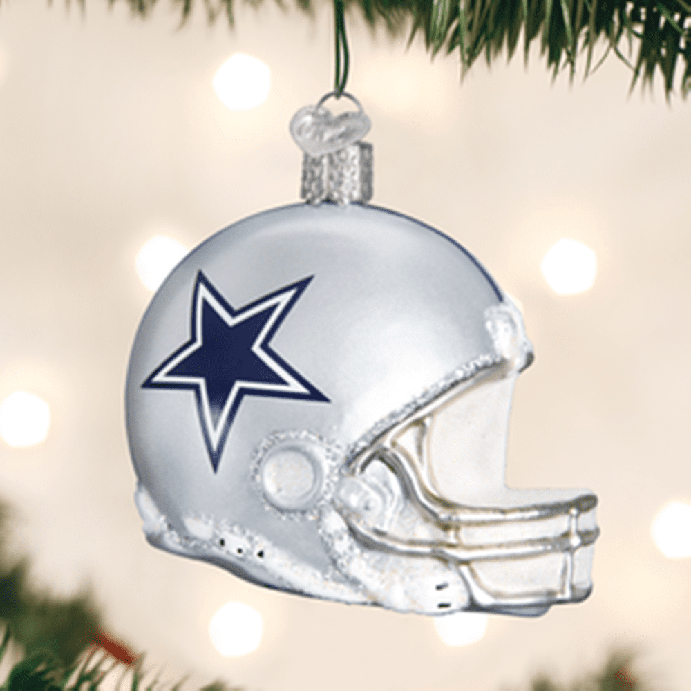 Old World Christmas Ornament - Dallas Cowboys Helmet