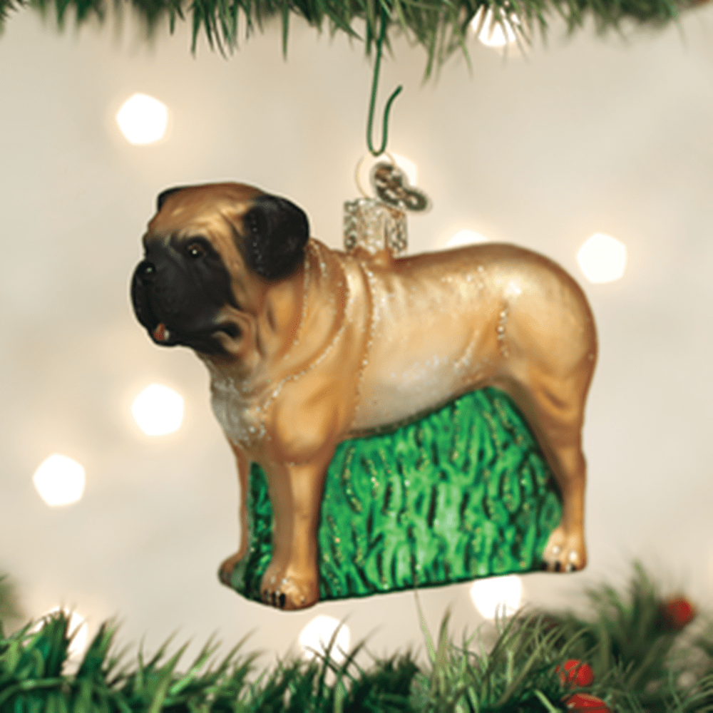 Old World Christmas Ornament - English Mastiff