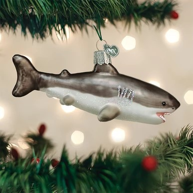 Old World Christmas Ornament - Great White Shark