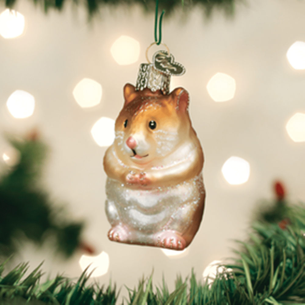 Old World Christmas Ornament - Hamster