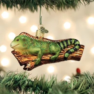 Old World Christmas Ornament - Iguana