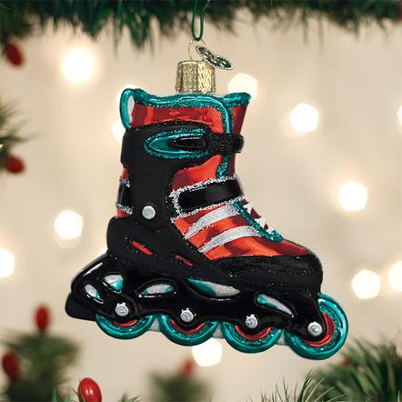 Old World Christmas Ornament - Inline Skate