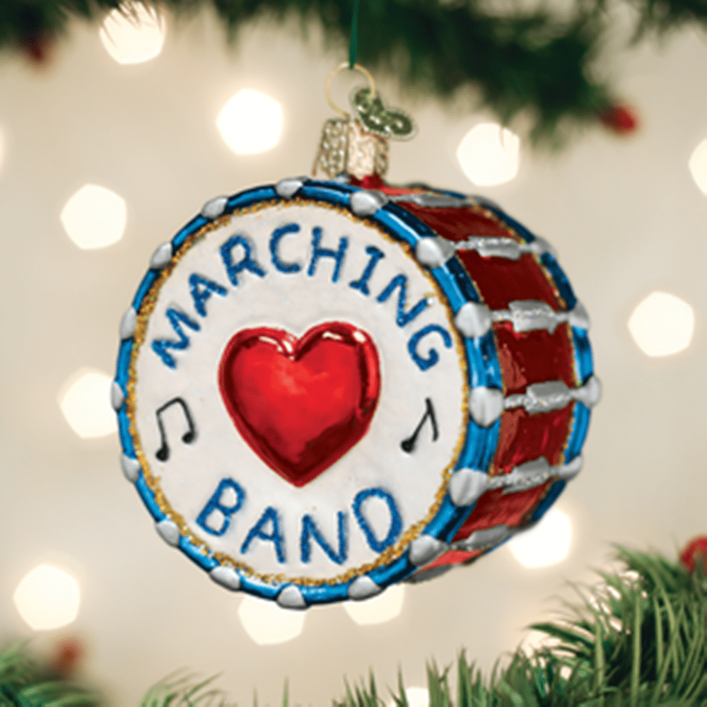 Old World Christmas Glass Ornament - Marching Band