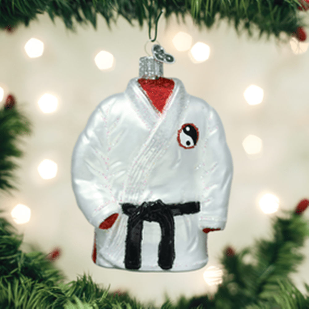 Old World Christmas Glass Ornament - Martial Arts