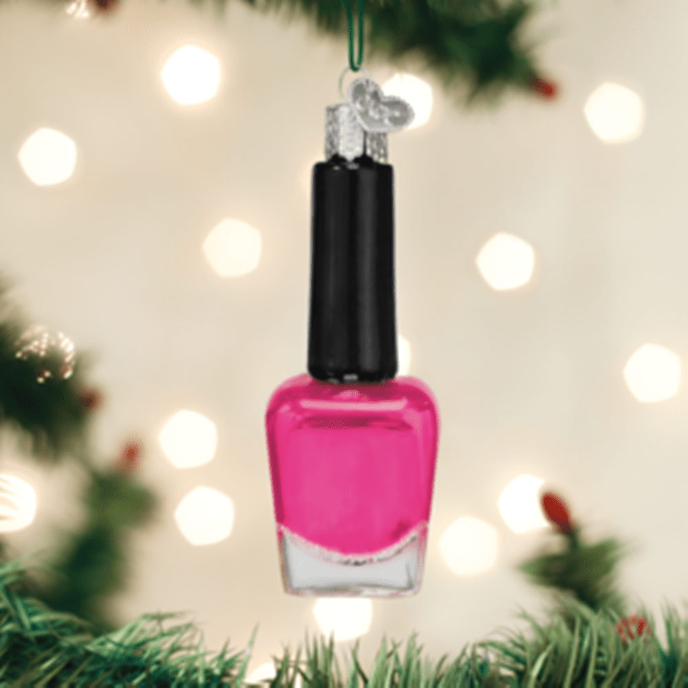 Old World Christmas Ornament - Nail Polish
