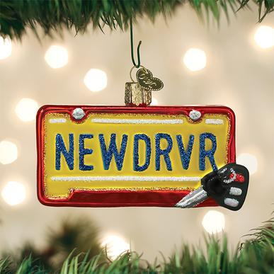 Old World Christmas Ornament - New Driver