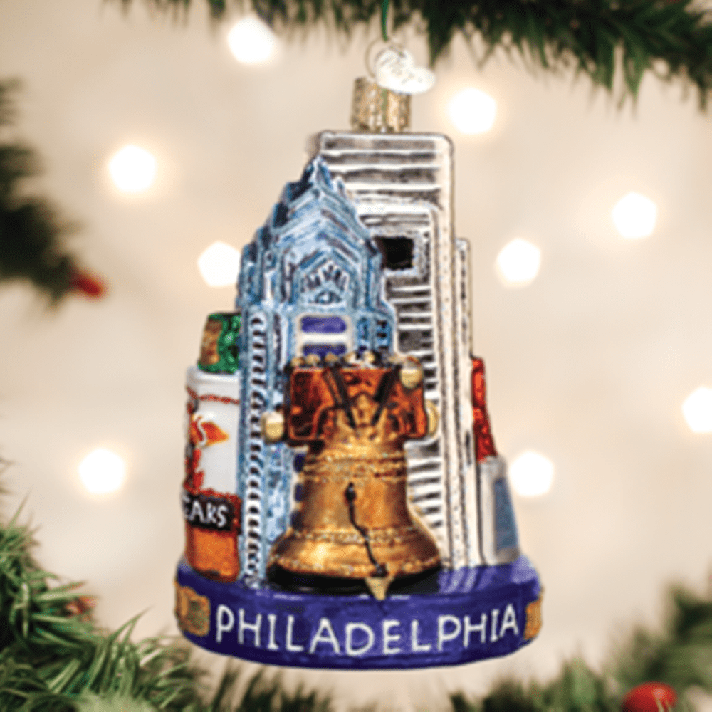 Old World Christmas Ornament - Philadelphia