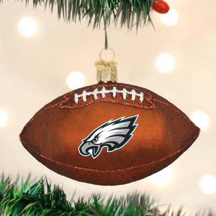 Old World Christmas Ornament - Philadelphia Eagles Football
