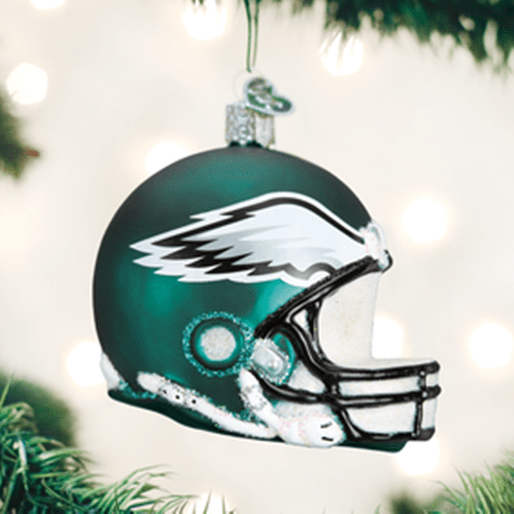 Old World Christmas Ornament - Philadelphia Eagles Helmet
