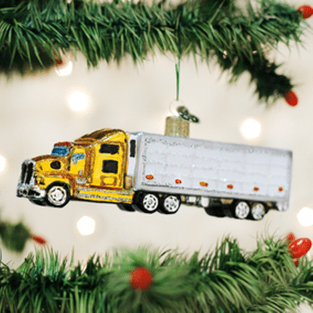 Old World Christmas Ornament - Semi Truck