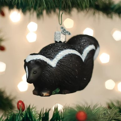 Old World Christmas Ornament - Skunk