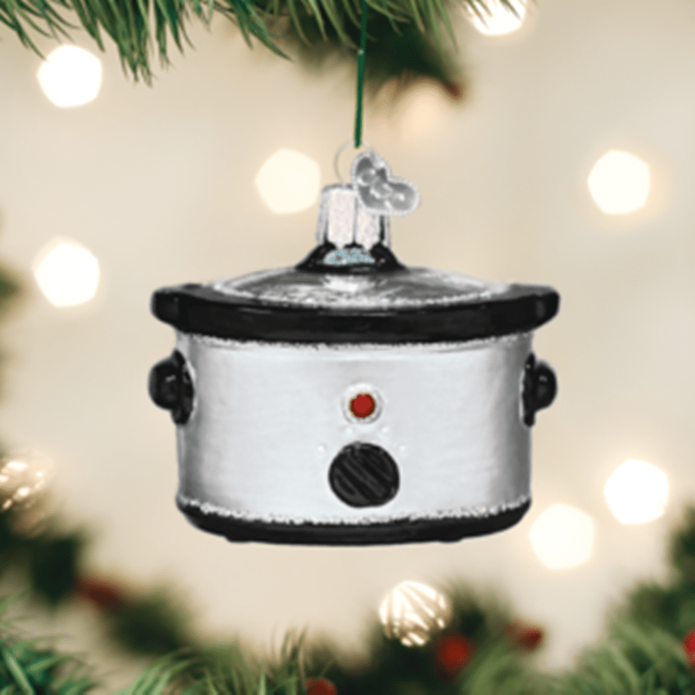 Old World Christmas Glass Ornament - Slow Cooker