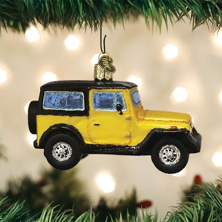 Old World Christmas Ornament - Sport Utility Vehicle