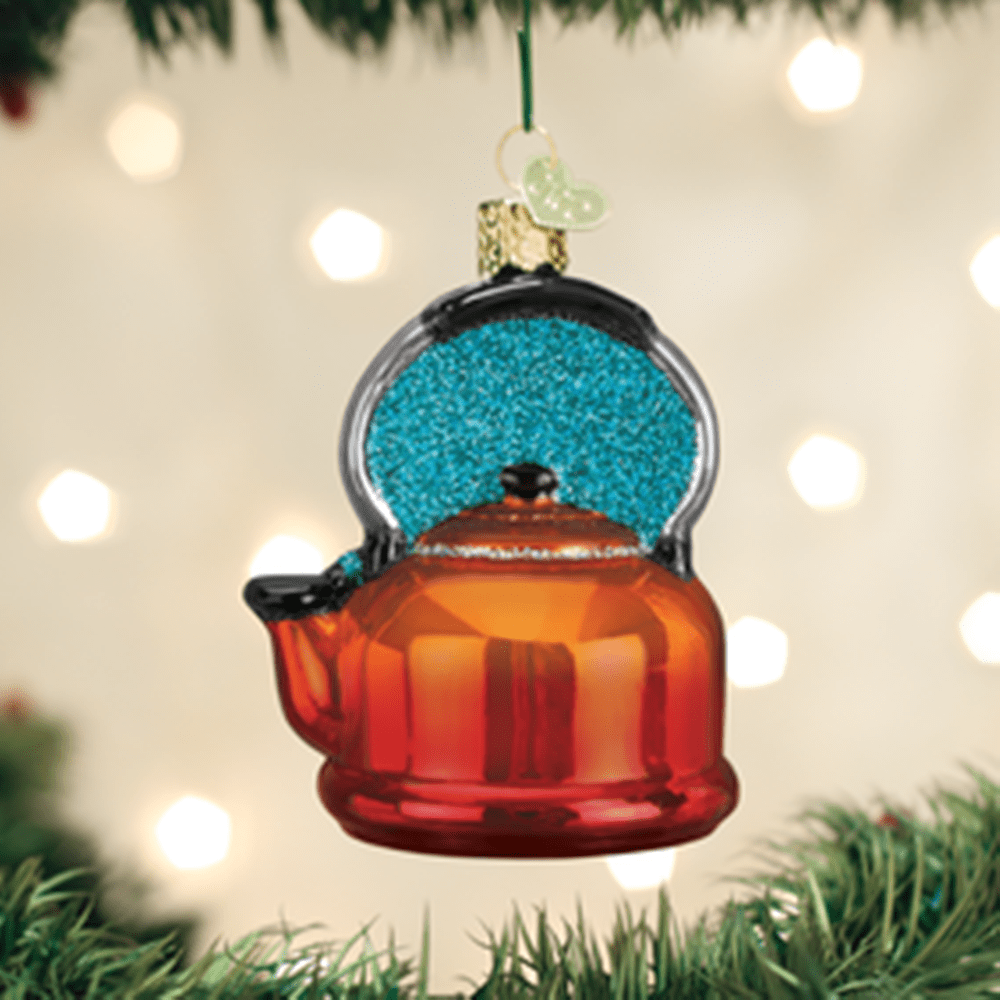 Old World Christmas Ornament - Tea Kettle
