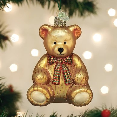 Old World Christmas Ornament - Teddy Bear