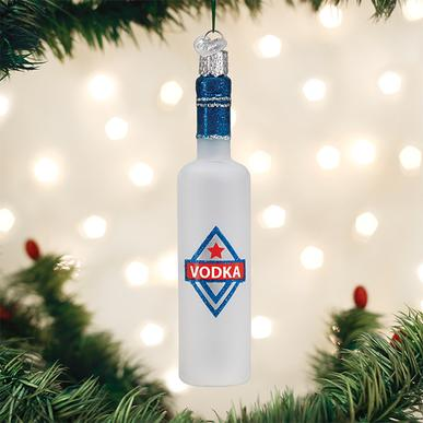 Old World Christmas Ornament - Vodka Bottle