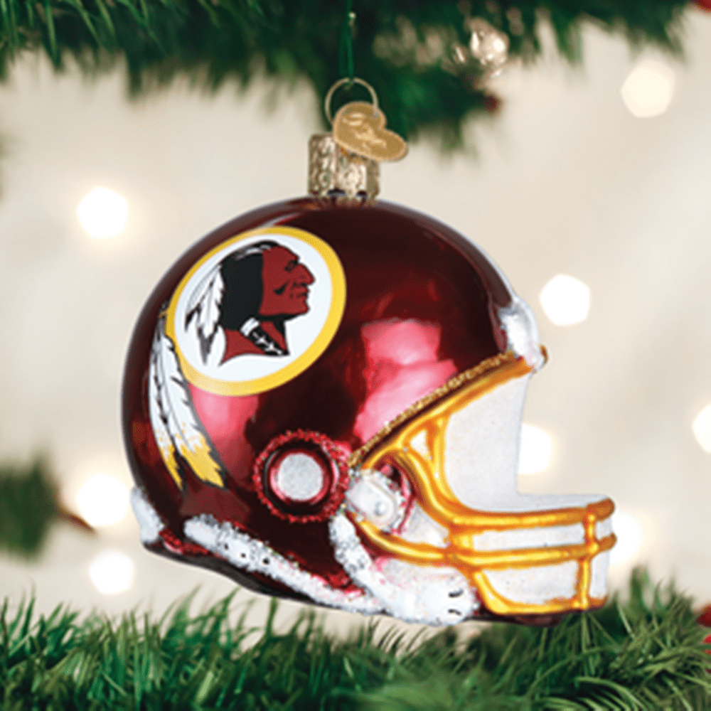 Old World Christmas Ornament - Washington Redskins Helmet