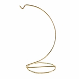 Ornament Hanger - 1 Ornament - Brass - Up to 4.75in Ornament