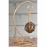 Ornament Hanger - 1 Ornament - Gold - Up to 7.25in Ornament