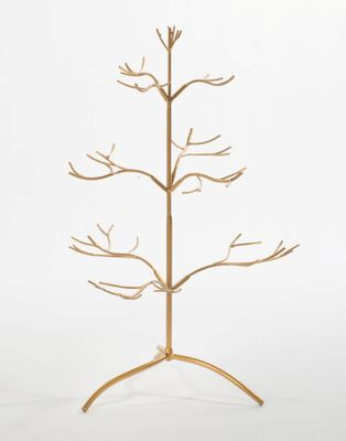 Ornament Holder Tree - Multiple Ornaments - Gold - 25 Inch