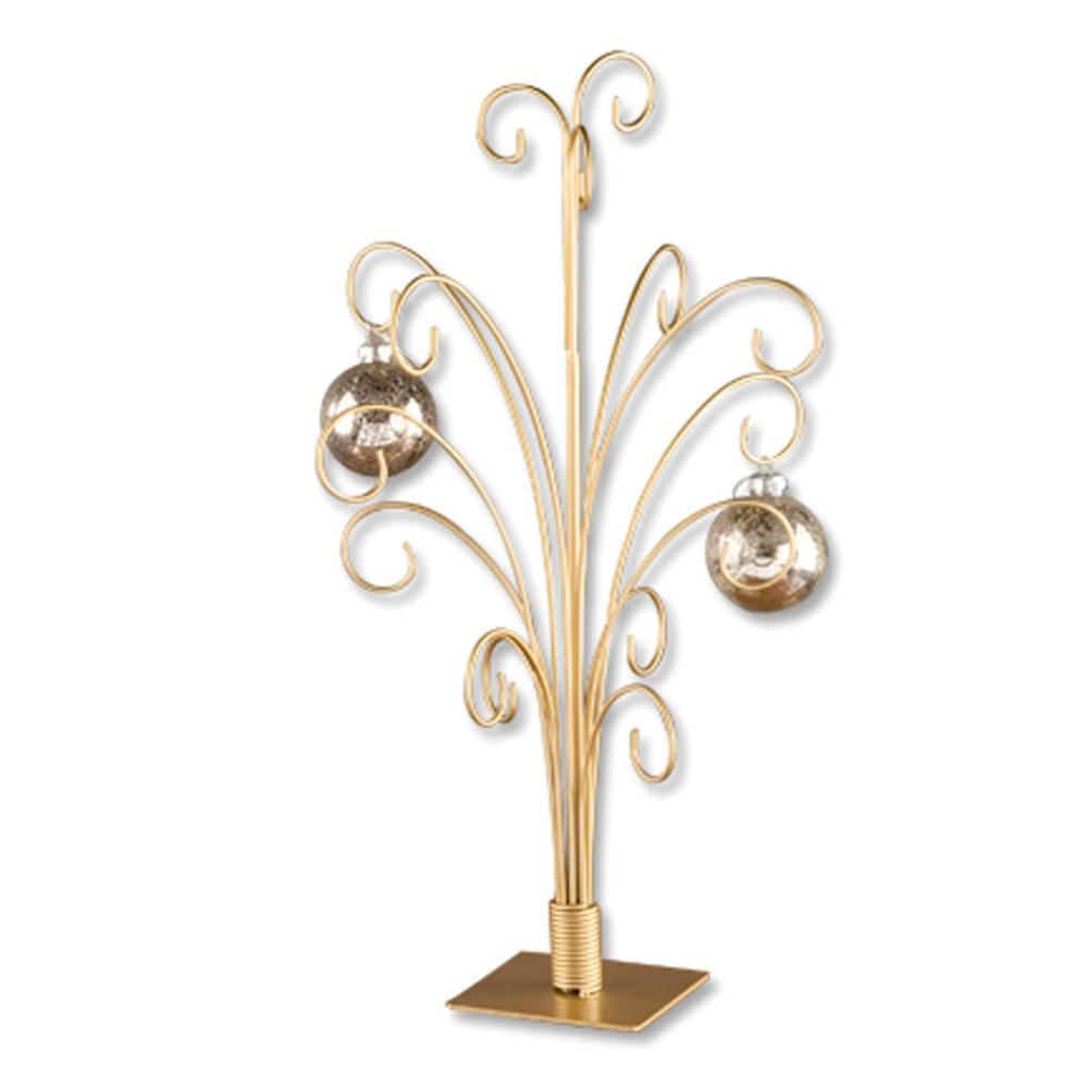 Ornament Hanger - 15 Ornaments - Gold - Up to 4.5in Ornament