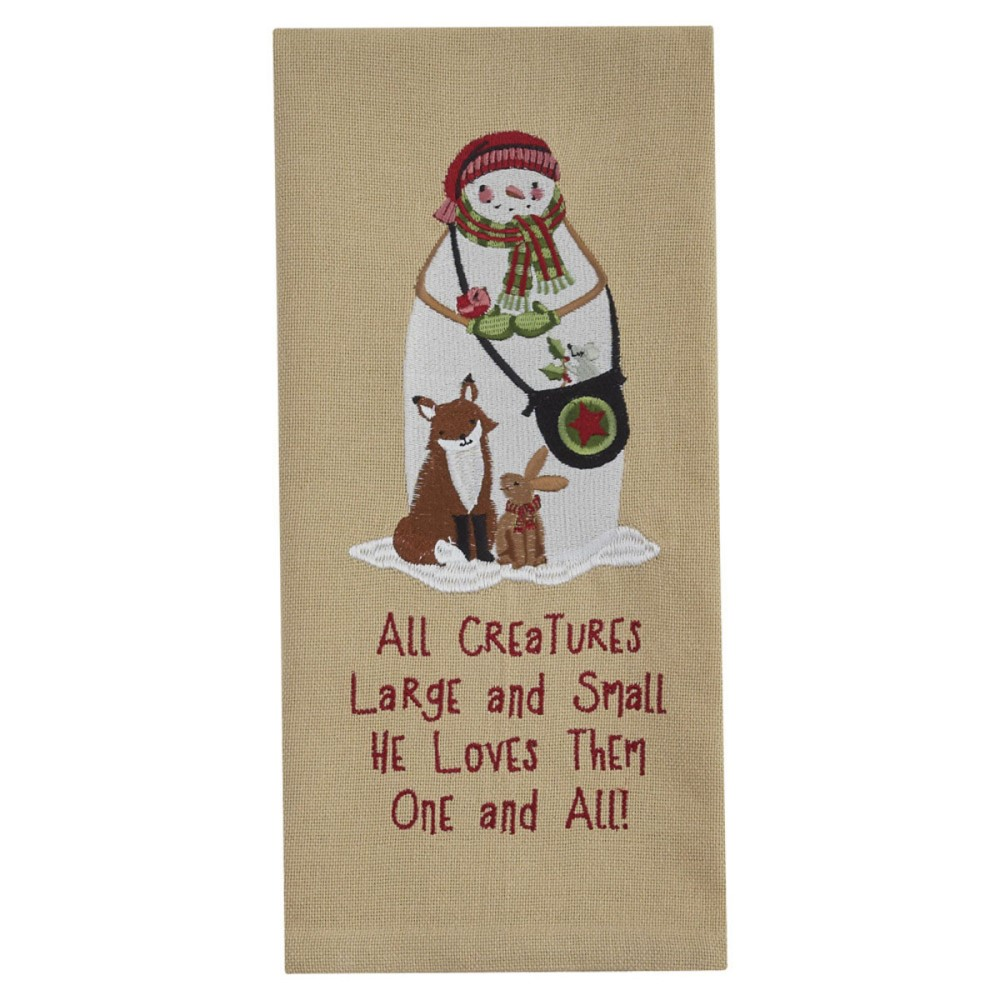 Park Designs Dish Towel - All Creatures