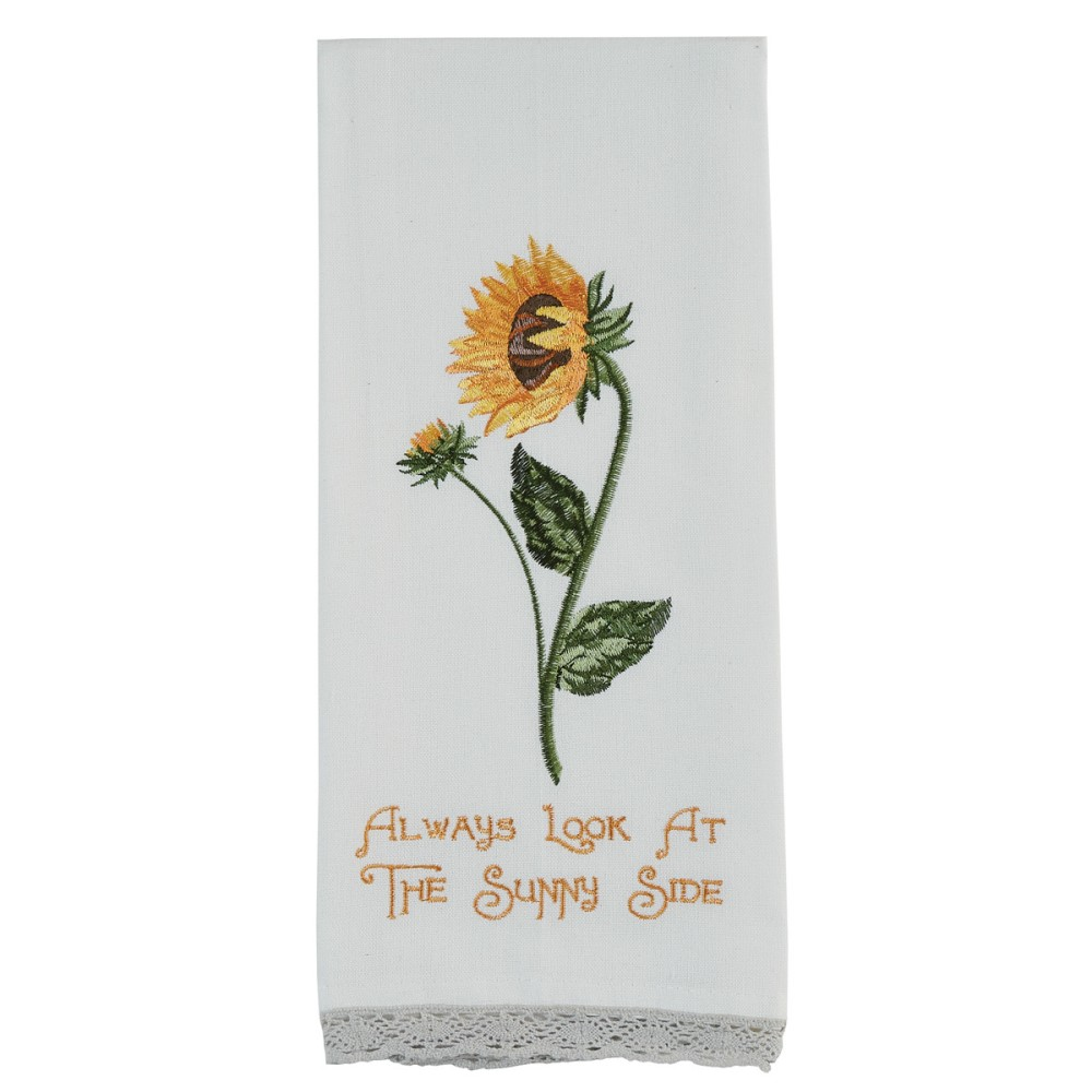 Park Designs Dish Towel - Always Look At The Sunny Side