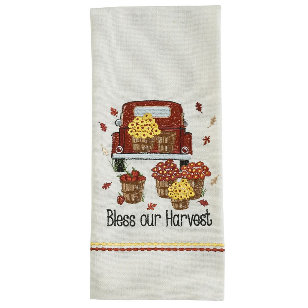 Park Designs Dish Towel - Bless Our Harvest