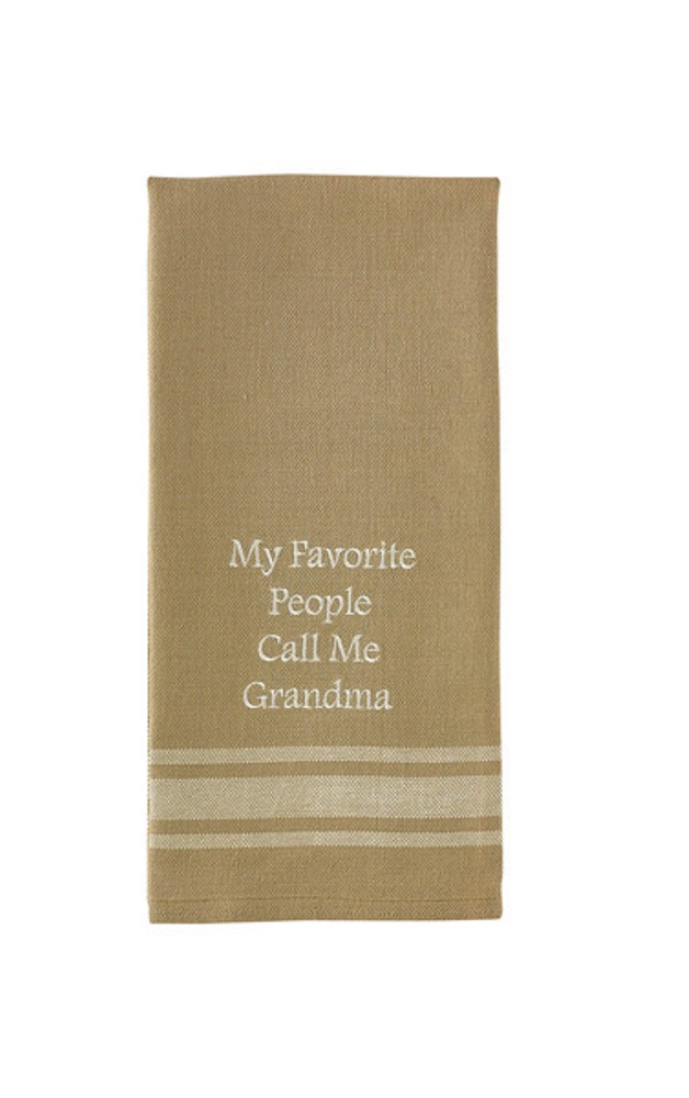 Park Designs Dish Towel - Call Me Grandma