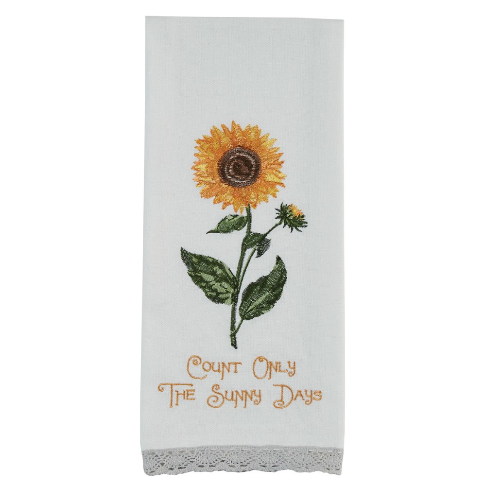 Park Designs Dish Towel - Count Only The Sunny Days