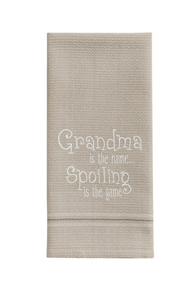 Park Designs Dish Towel - Grandma Is The Name